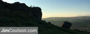 Cow and Calf Rocks at Ilkley