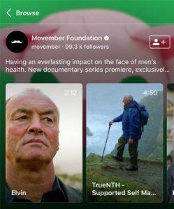 IGTV Movember